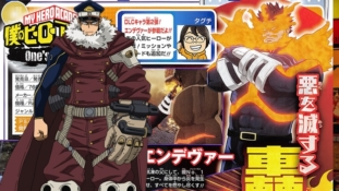 My Hero Academia One's Justice: Le Jump tease le personnage DLC d'Inasa Yoarashi