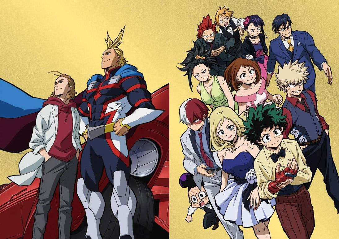 Le film My Hero Academia : Two Heroes aura en bonus l'anime du manga «All Might: Rising»