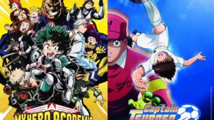 My Hero Academia et Captain Tsubasa diffusés sur la chaîne TFX