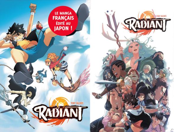 NHK confirme l'adaptation animée du manga Radiant pour un lancement en Octobre 2018