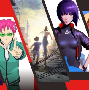 Netflix : Vidéos promos de leurs animes Ghost in the Shell, Saiki Kusuo no Ψ Nan, Altered Carbon, Levius, Eden