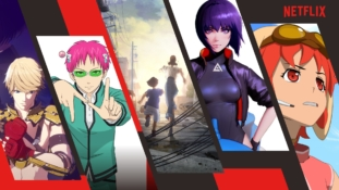 Netflix : Vidéos promos de leurs animes Ghost in the Shell, Saiki Kusuo no Ψ Nan, Altered Carbon, Levius, Eden