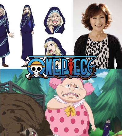 One Piece – Arc Whole Cake Island: Titres des épisodes 837 – 838 – 839,  Fumi Hirano jouera Mother Caramel