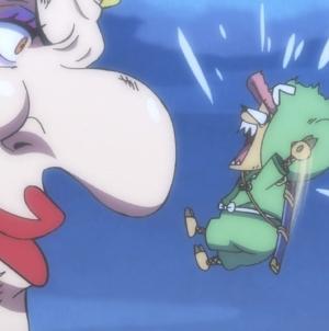 One Piece épisode 927 : « Début du chaos. Fureur du shogun serpent Orochi ! »