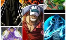 One Piece :  Le chapitre 984 ne sort pas aujourd'hui, la source de l'inspiration d'Eiichiro Oda pour les amiraux