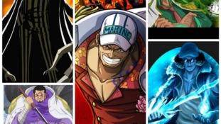 One Piece : La source de l'inspiration d'Eiichiro Oda pour les amiraux
