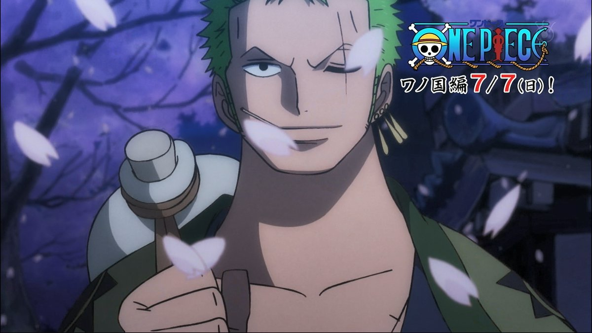 Roronoa Zoro Wano Arc Wallpaper One Piece Wano Hd Gambarku