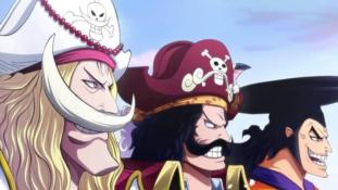 One Piece : Un peu plus détails sur l'équipage de Roger, Barbe Blanche, Aokiji et Akainu
