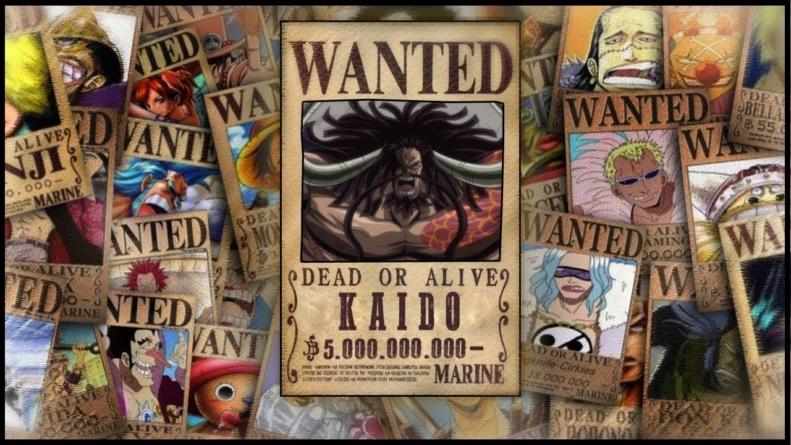 One Piece : Les primes (Bounty) les plus élevées connues à ce jour dans le manga
