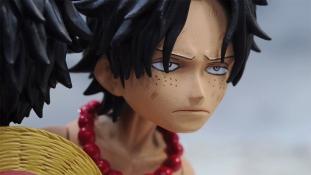 One Piece: Court métrage en Stop Motion d'Ace à Marinford