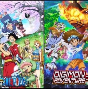 One Piece et Digimon Adventure : La Toei met officiellement ses animes en pause