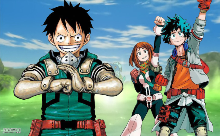 Eiichiro Oda (One Piece) & Kōhei Horikoshi (My Hero Academia) font amis-amis grâce à Pokémon Go