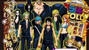 One Piece Film Gold: Chara design de l'équipage par Eiichiro Oda