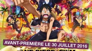 One Piece Film Gold: Spot publicitaire et diffusion en salles du film en France, Belgique et Suisse