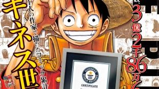 One Piece rentre dans le Guinness des Records pour la bande dessinée ayant le plus d'exemplaires publiés