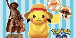 One Piece x Pokémon Go : Les chapeaux de paille s'invitent dans le jeu