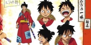 One Piece anime : Les nouveaux chara design de Luffy et Zoro pour l'arc Wano