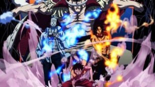 One Piece : Le chapitre 971 ne sort pas aujourd'hui, Barbe Blanche, Ace et Marco dans Pirate Warriors 4