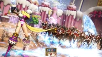 One Piece Pirate Warriors 4 : La fille de Big Mom, Charlotte Smoothie en démonstration