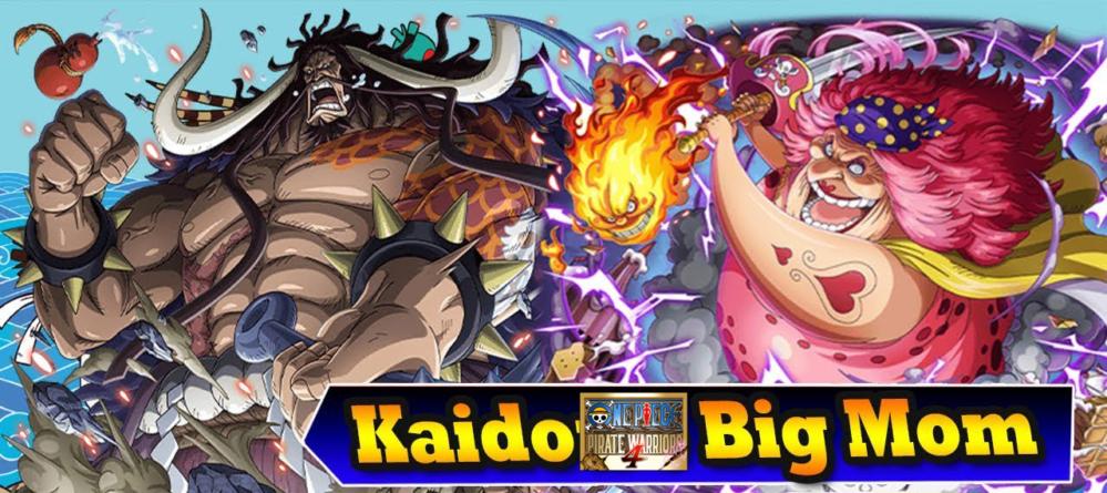 One Piece – Pirate Warriors 4 : Kaidô (forme Dragon) et Big Mom seront jouables