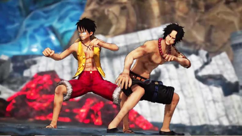 One Piece – Pirate Warriors 4 : Spot de l'arc Marineford avec Ace et trailer de Sabo, Law et Lucci