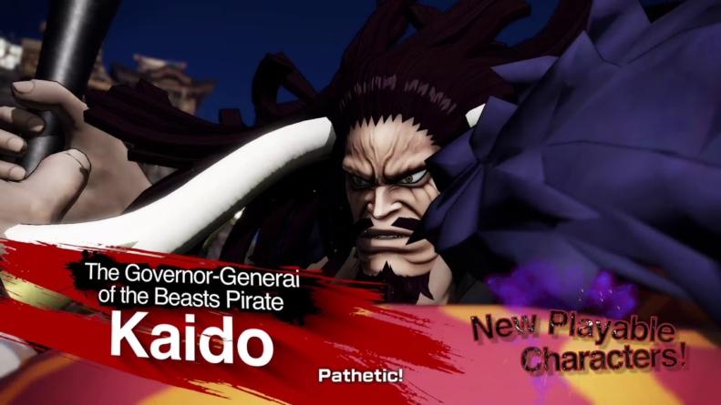 One Piece – Pirate Warriors 4 : Gameplay de Kaido et Big Mom, les deux monstres jouables