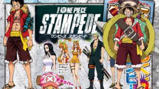 One Piece Stampede : Chara designs des Mugiwaras dans le film