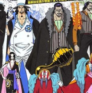 One Piece Stampede : Designs de Rob Lucci, Boa Hancock, Crocodile et Baggy