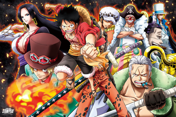 One Piece Stampede : N°1 au Box office japonais pour son premier week-end et fait mieux que One Piece Gold