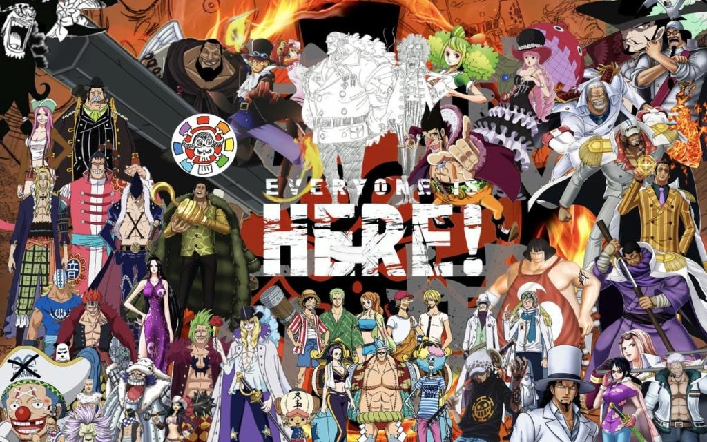 One Piece Stampede : Un énorme casting de personnages révélé