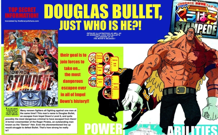 One Piece Stampede : Premier synopsis officiel qui présente le grand méchant du film