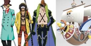 One Piece Stampede : Costumes originaux des participants à la Pirate Expo et du Thousand Sunny