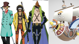 One Piece Stampede : Costumes originaux des participants à la Pirate Expo et du Thousand Sunny