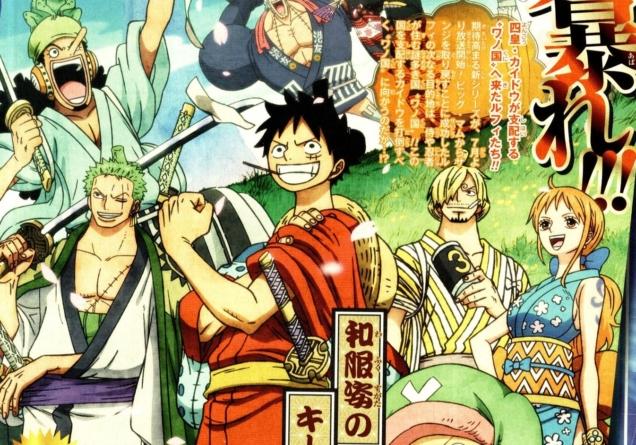 One Piece anime : Planning des épisodes de juin-juillet, voilà Wano