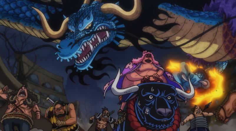 One Piece episode 913 : « L'équipage décimé. Le souffle ardent de Kaido ! »