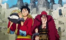 One Piece episode 919 : « Remue-ménage. Les prisonniers, Luffy et Kid ! »