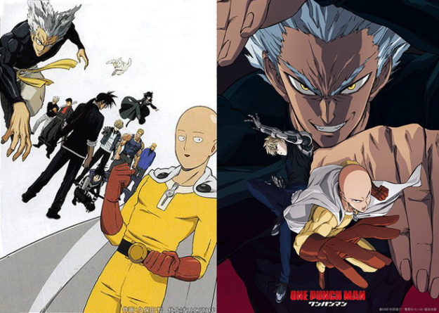 One Punch Man – Saison 2 : Preview de la nouvelle affiche de l'anime qui débutera le 2 avril