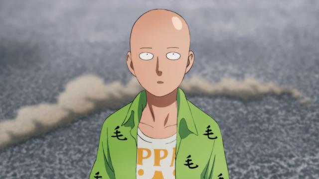 One Punch Man épisode 1 – Saison 2 : « Le retour du héros »