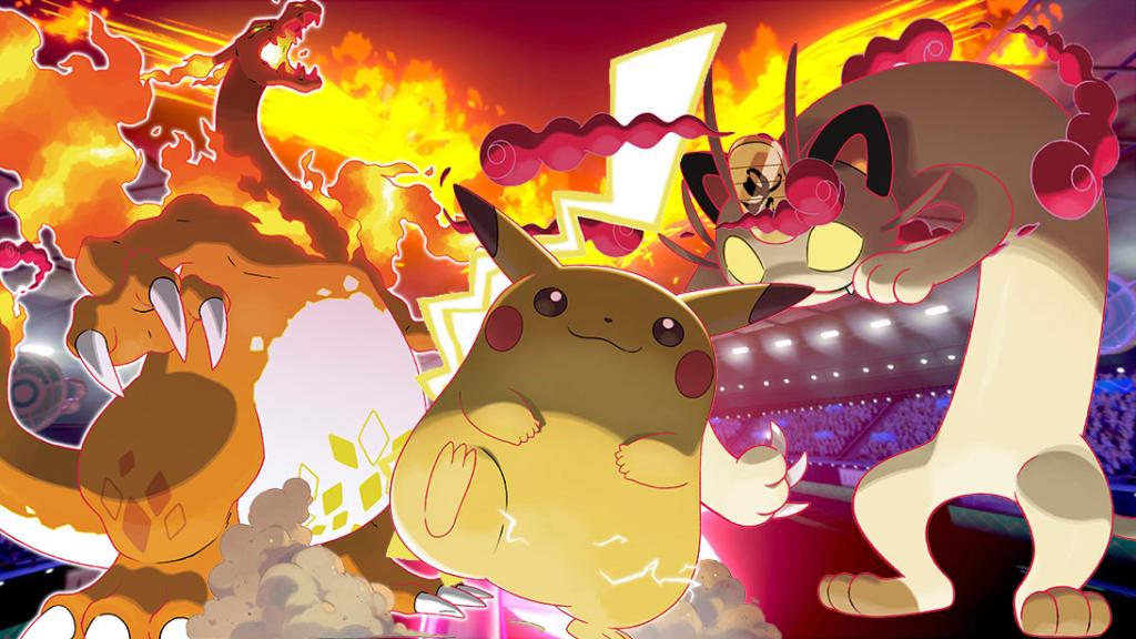 Pokémon épée Et Pokémon Bouclier Gigamax De Pikachu