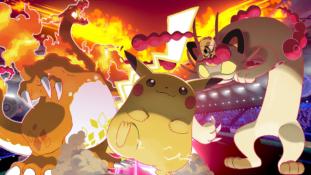 Pokémon Épée et Pokémon Bouclier : Les formes Gigamax de Pikachu, Dracaufeu, Miaouss, Évoli et Papilusion