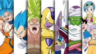 Dragon Ball Super – Broly: Le film révèle 7 posters de personnages