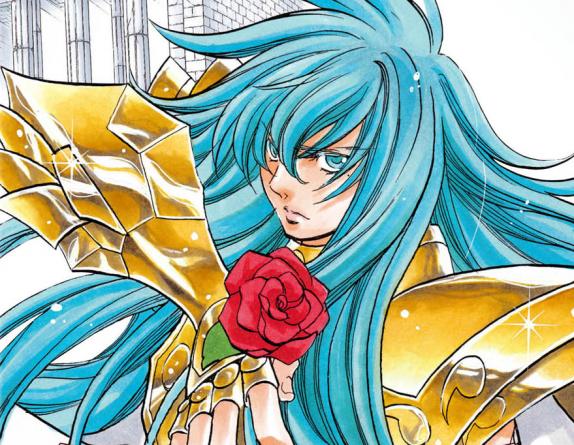 Saint Seiya – Love Canvas Chronicles:  Fin du manga spin-off de Shiori Teshirogi
