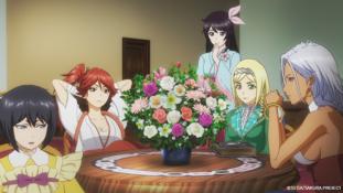 Sakura Wars The Animation épisode 2 : « Inconnu au bataillon ! Le mystérieux individu »