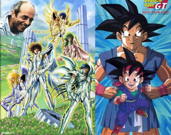 Serge Bourrier le doubleur de Shun dans les Chevaliers du Zodiaque et du Narrateur de Dragon Ball est décédé