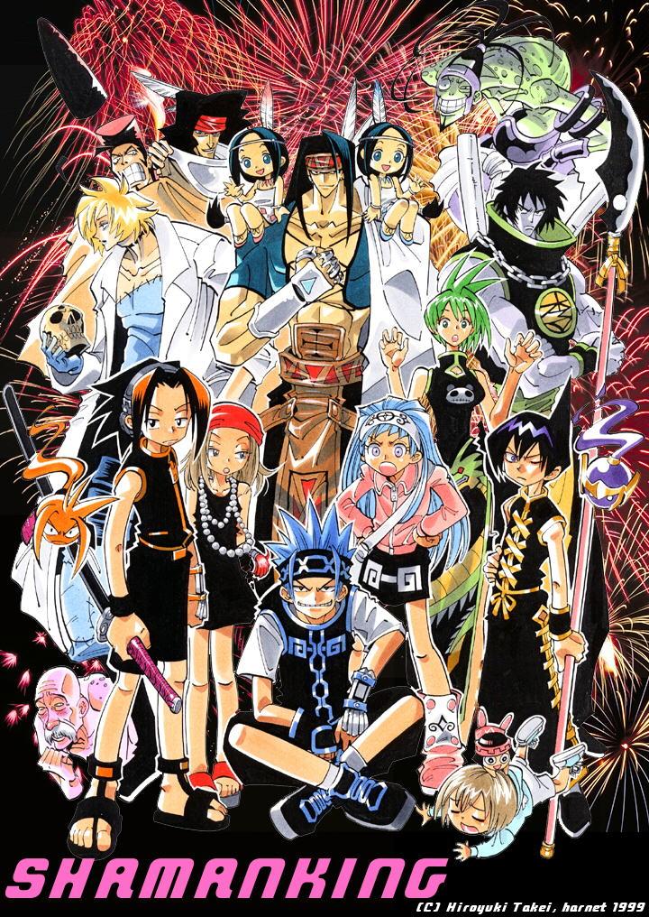 Shaman King: Un site spécial pour le 20e Anniversaire du manga ouvrira le 1er Janvier