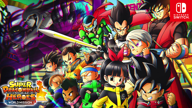 Super Dragon Ball Heroes : World Mission : Trailer de lancement