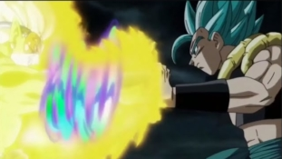 Super Dragon Ball Heroes : Épisode 18, Gogeta SSJB vs Hearts