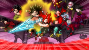 """Super Dragon Ball Heroes épisode spécial : """"La Patrouille du Temps VS Le Roi des Ténèbres """""""