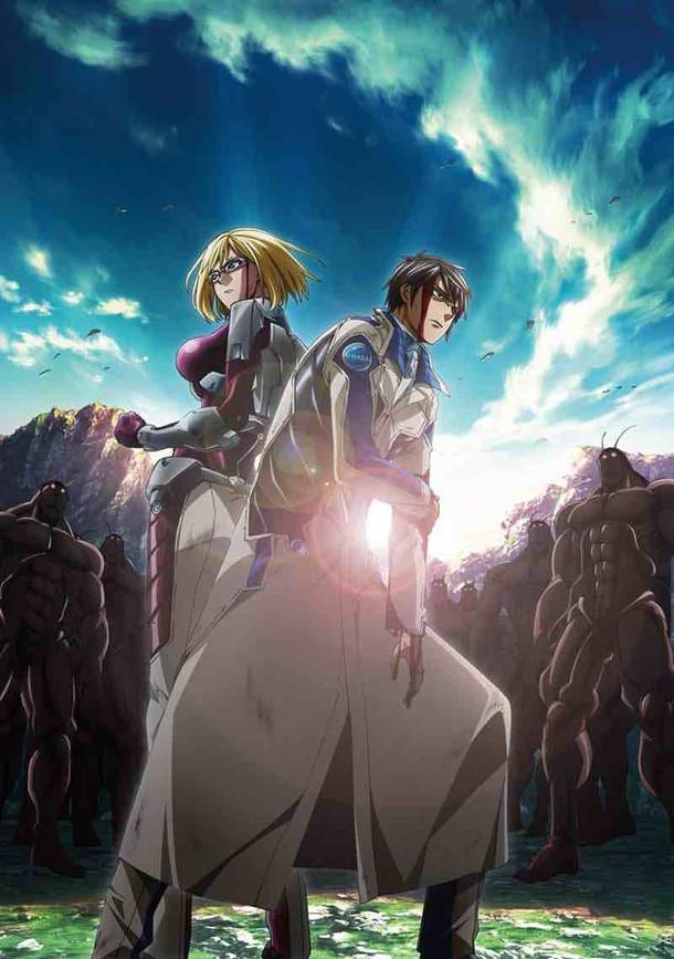 Terra Formars Revenge Premier visuel de la saison 2 de l'anime