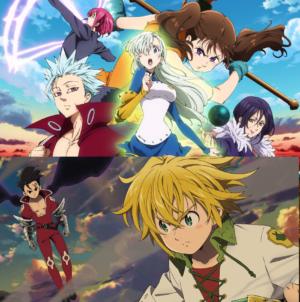The Seven Deadly Sins – Revival of The Commandments: Opening de la saison 2 de l'anime qui fera 24 épisodes